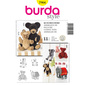 Burda 7904 Cuddle Toys All Sizes