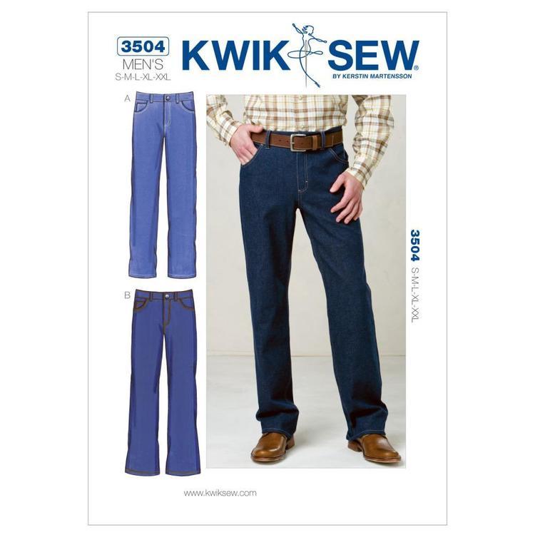 Kwik Sew Pattern K3504 Jeans