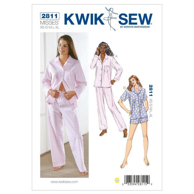 Kwik Sew Pattern K2811 Pajamas