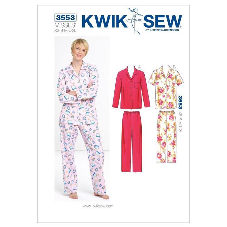 Kwik Sew Pattern K3553 Pajamas
