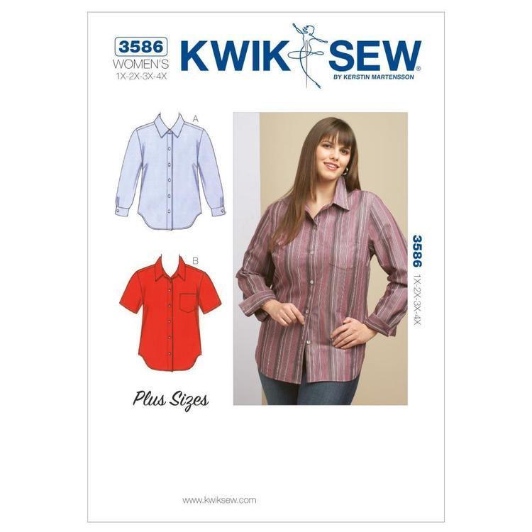 Kwik Sew Pattern K3586 Shirts