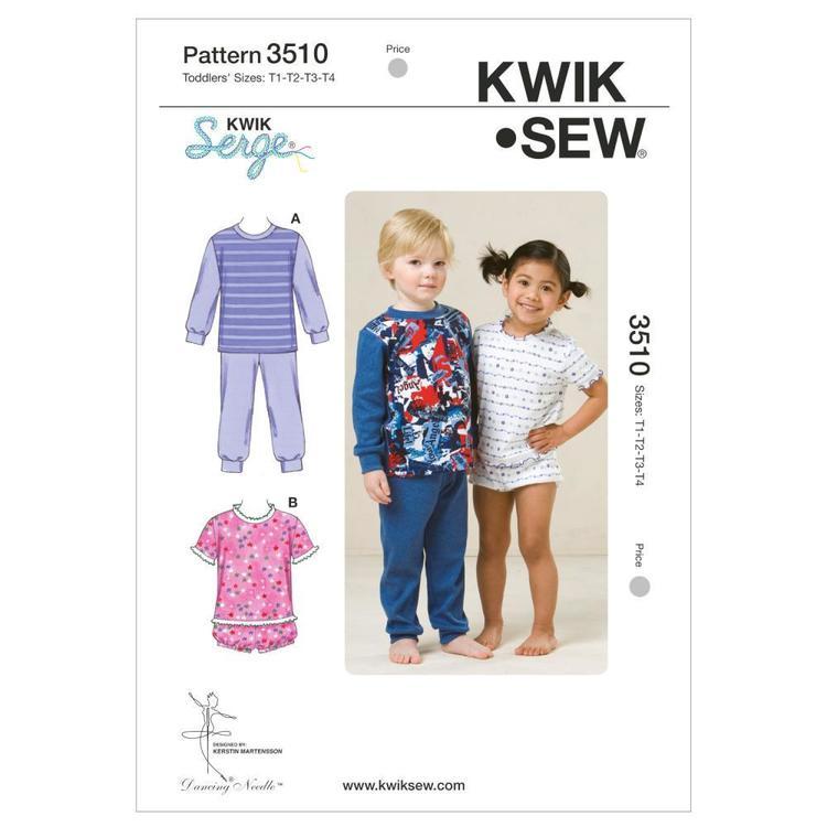 Kwik Sew Pattern K3510 Pajamas