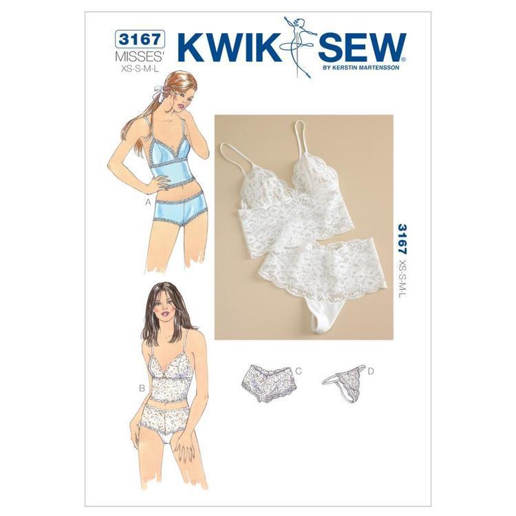 Kwik Sew Pattern K3167 Camisoles & Panties