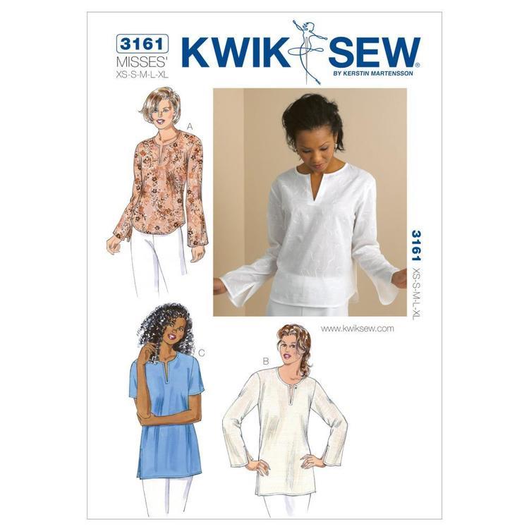Kwik Sew Pattern K3161 Top & Tunics