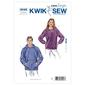 Kwik Sew K3045 Shirts  X Small - X Large
