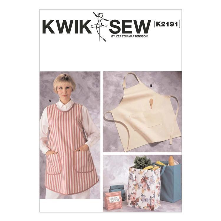 Kwik Sew Pattern K2191 Aprons & Bags
