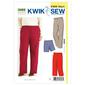 Kwik Sew Pattern K3482 Pants & Shorts  1X - 4X