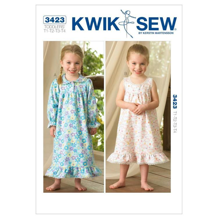 Kwik Sew Pattern K3423 Nightgowns