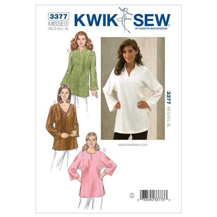 Kwik Sew Pattern K3377 Tunics