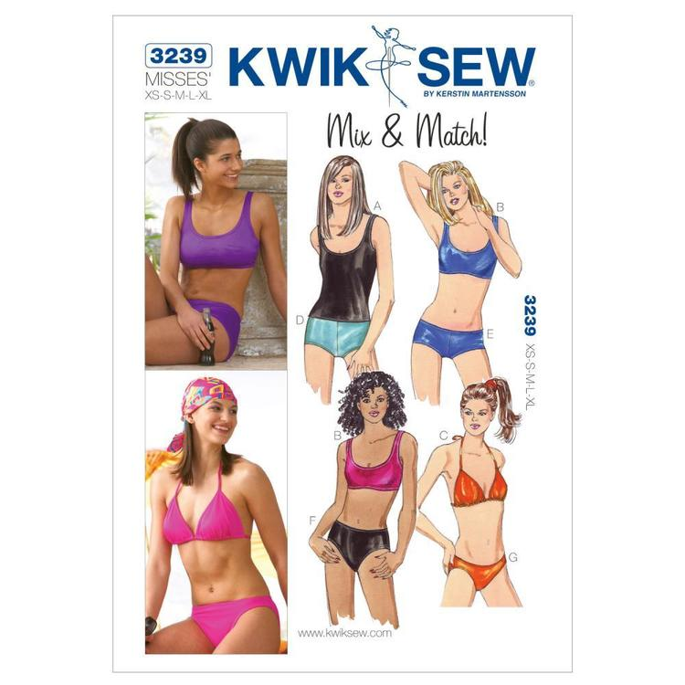 Kwik Sew Pattern K3239 Swimsuits