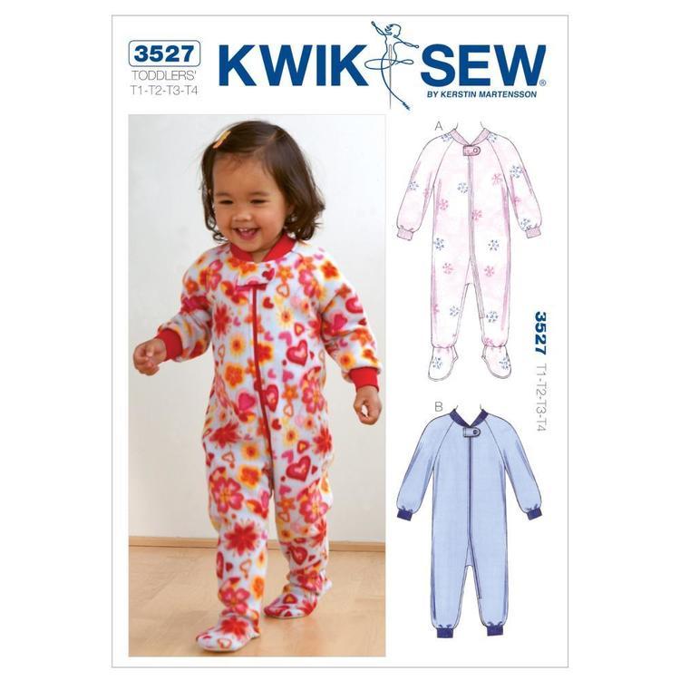 Kwik Sew Pattern K3527 Sleepers