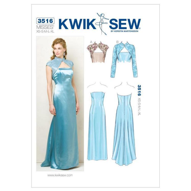 Kwik Sew Pattern K3516 Dress & Jackets