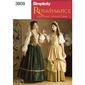 Simplicity 3809D Women's Costumes