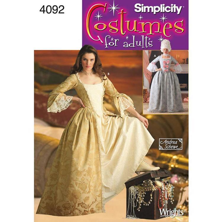 Simplicity Pattern 4092 Women's Costume