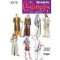 Simplicity 4213 Adult Costumes  X Small - X Large