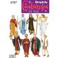 Simplicity 4797 Unisex Costumes  Small - Large