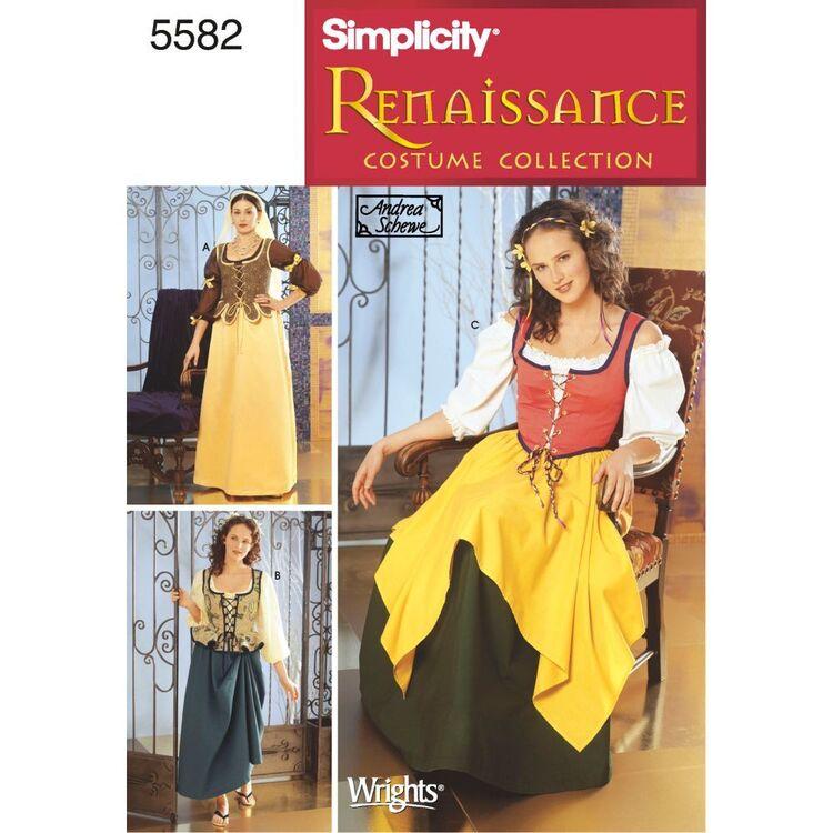 Simplicity Pattern 5582 Women's Costume
