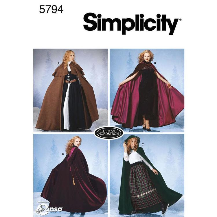 Simplicity Pattern 5794 Kid's Cape