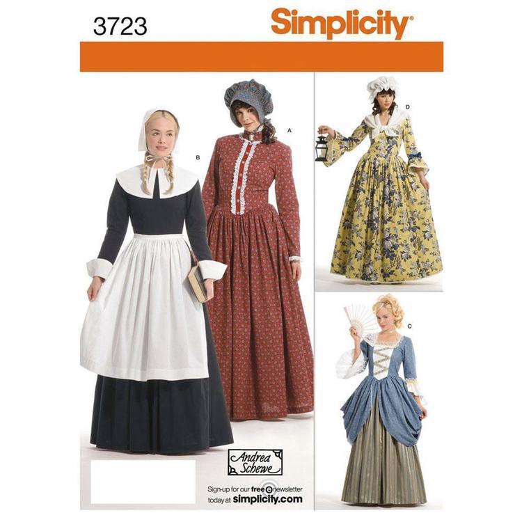 Simplicity Pattern 3723 Women's Costume