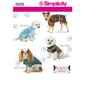 Simplicity Pattern 3939 Dog Clothes  Small - Large