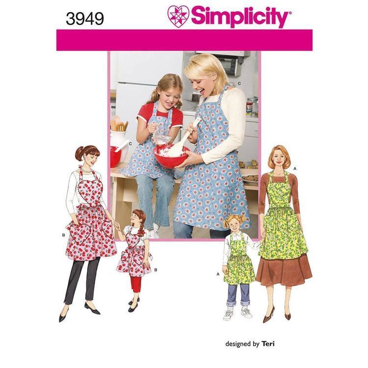 Simplicity Pattern 3949 Aprons