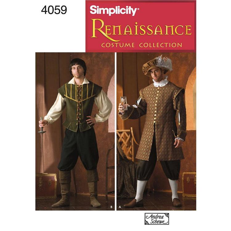 Simplicity Pattern 4059 Men's Costume