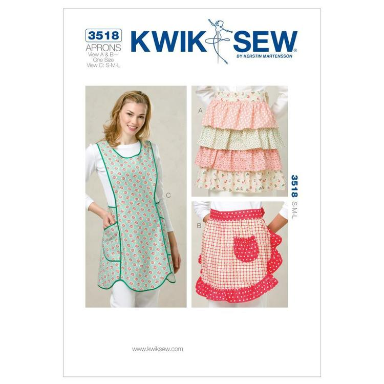 Kwik Sew Pattern K3518 Aprons