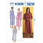 Kwik Sew K3106 Nightgowns  X Small - X Large