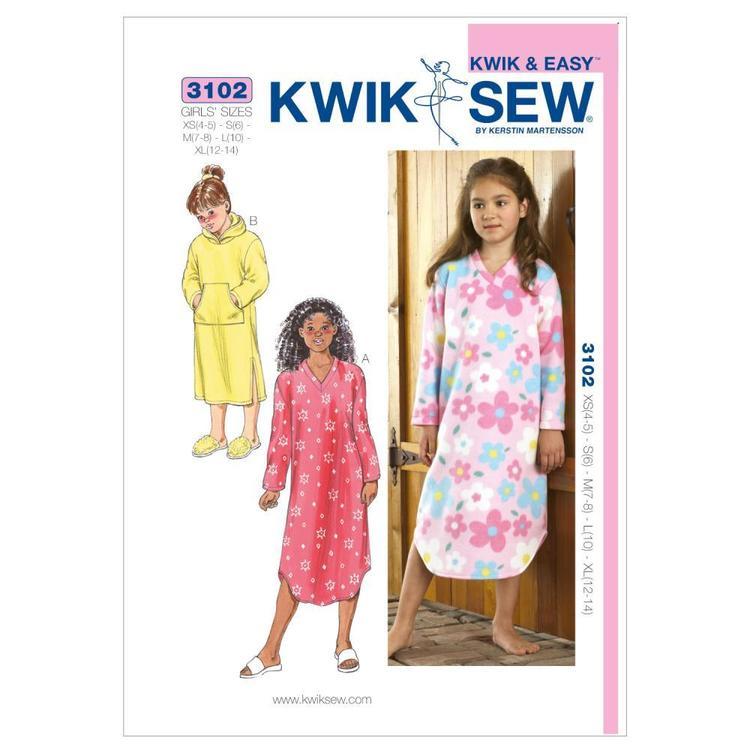 Kwik Sew Pattern K3102 Gowns