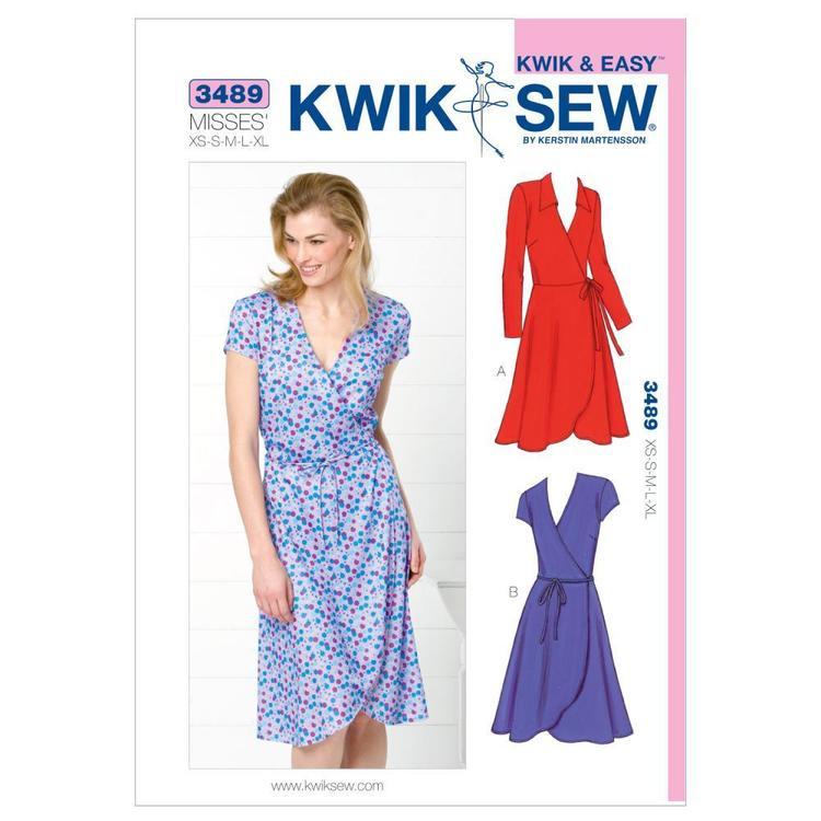 Kwik Sew Pattern K3489 Dresses