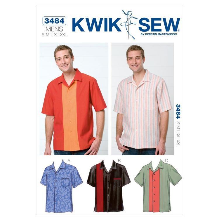 Kwik Sew Pattern K3484 Shirts