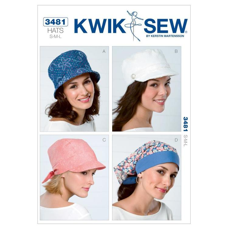 Kwik Sew K3481 Hats  Small - Large