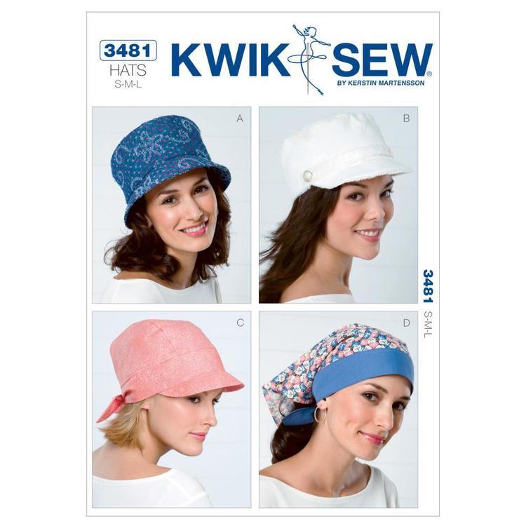 Kwik Sew Pattern K3481 Hats