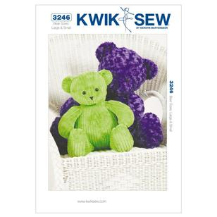Kwik Sew Pattern K3246 Teddy Bears