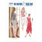 Kwik Sew K3242 Skirts & Tops  X Small - X Large