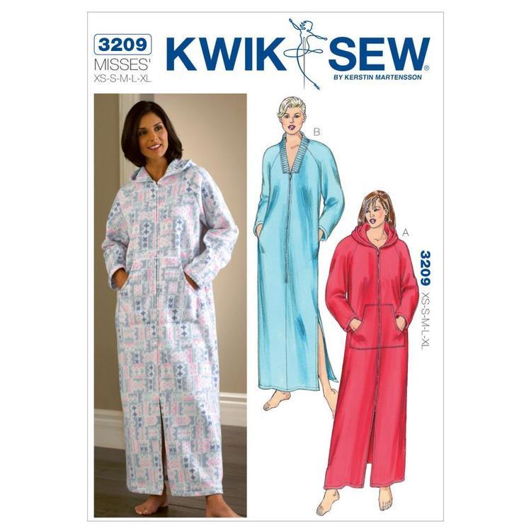 Kwik Sew Pattern K3209 Robes