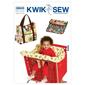 Kwik Sew K3643 Shopping Cart Seat Cover & Diaper Bag With Changing Pad  One Size