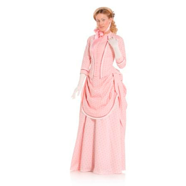 Burda Pattern 7880 Women's 1888 Dress Costume  10 - 22