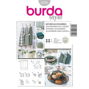 Burda 8125 Kitchen Accessories