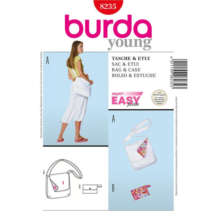 Burda Pattern 8235 Bags
