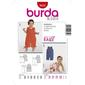 Burda 9652 Baby Jumpsuit  6 Months - 3 Years