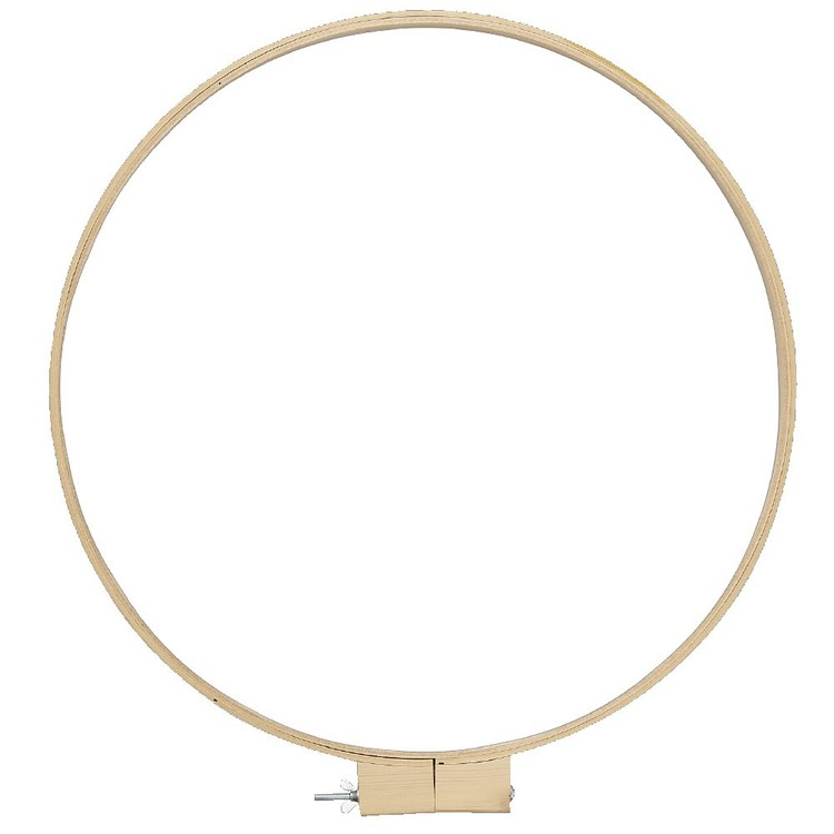 Arbee Round Quilting Hoop Natural
