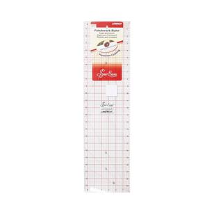 "Sew Easy 24 x 6.5"" Imperial Patchwork Ruler"