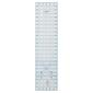 Birch Quilting Angle Ruler Clear 6 x 24 in