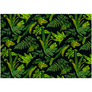 Kiwiana Fern Leaf Fabric
