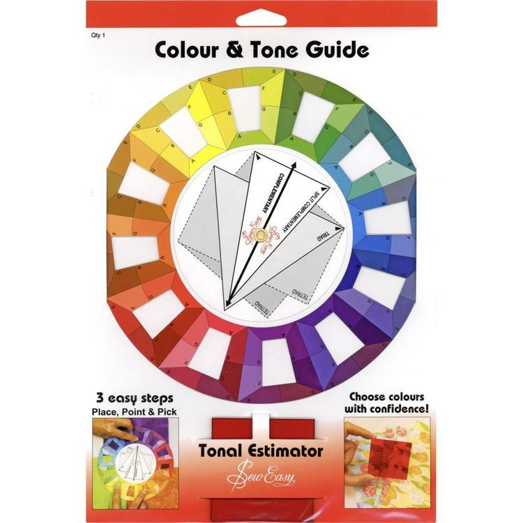 Sew Easy Colour & Tone Guide Colour Wheel