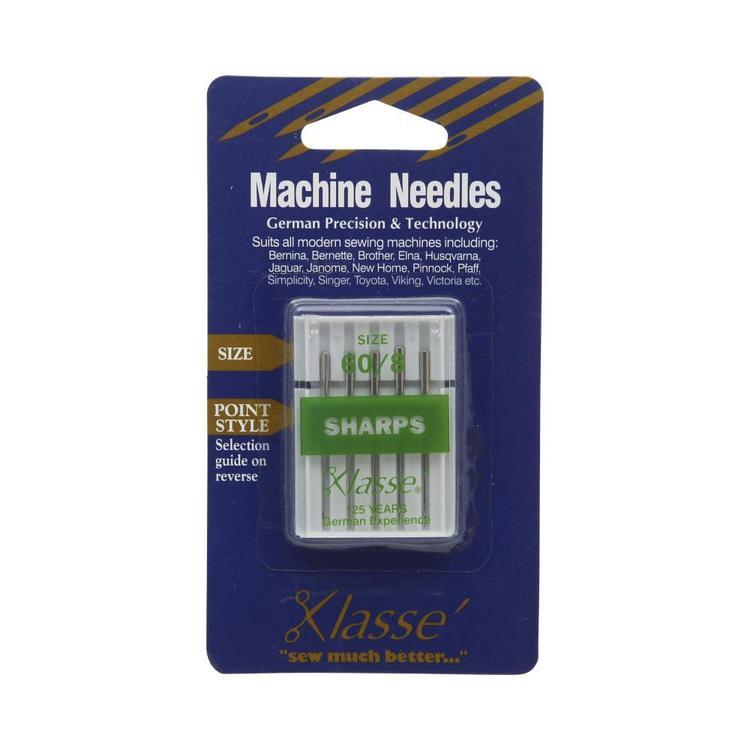 Klasse Sharps Sewing Machine Needles