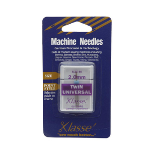 Klasse Twin Universal Sewing Machine Needles