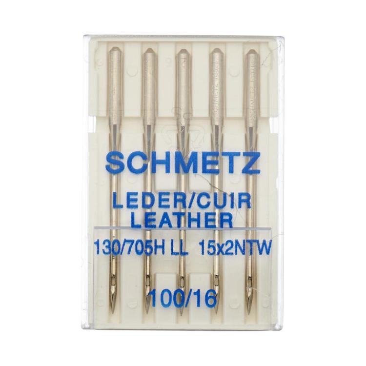 SCHMETZ Leather Needles Silver 100