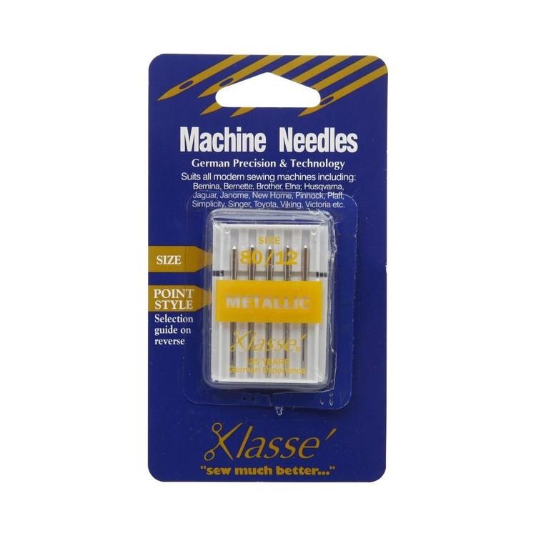 Klasse Metallic Sewing Machine Needles